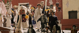 Film still of the film Eisenstein in Guanajuato, directed by Peter Greenaway, Visions du Réel 2016