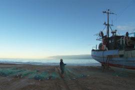 Film still of the film Aside the Sea, directed by Sine Skibsholt, Visions du Réel 2012