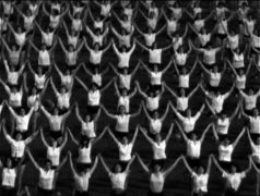 Film still of the film Yugoslavia, How Ideology Moved Our Collective Body, directed by Marta Popivoda, Visions du Réel 2018