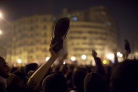 Film still of the film Tahrir -  Liberation Square, directed by Stefano Savona, Visions du Réel 2012
