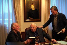 Film still of the film Meeting Gorbachev, directed by André Singer, Werner Herzog, Visions du Réel 2019