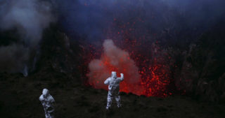 Film still of the film Into the Inferno, directed by Werner Herzog, Visions du Réel 2019