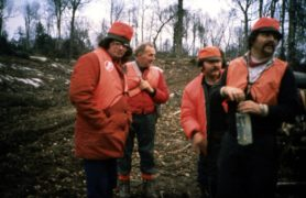 Film still of the film La Bête lumineuse, directed by Pierre Perrault, Visions du Réel 2021
