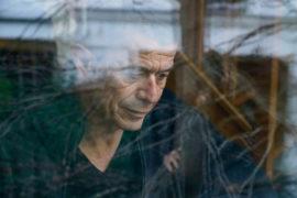 Film still of the film Masterclass Emmanuel Carrère, directed by Visions du Réel 2021